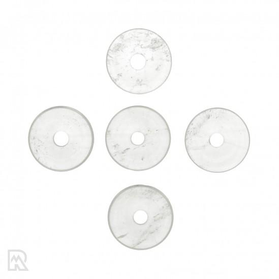 Bergkristal Donut Hanger ± 30 mm