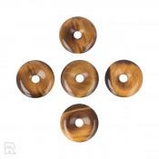 Tijgeroog Donut Hanger ± 30 mm