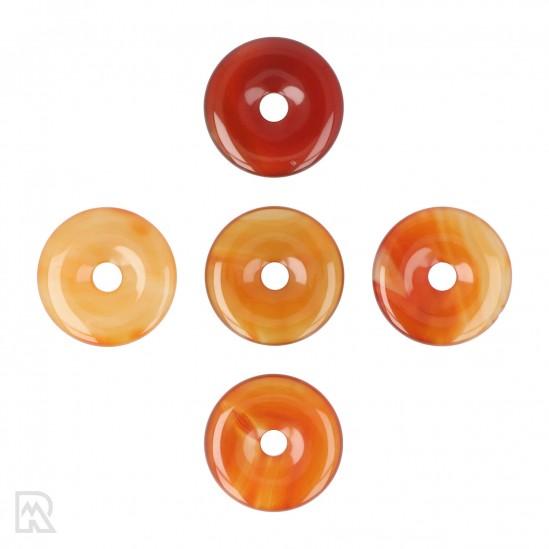 Carneool Donut Hanger ± 40 mm