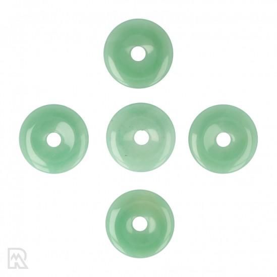 Groene Aventurijn Donut Hanger ± 40 mm