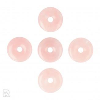 Rozenkwarts Donut Hanger ± 40 mm