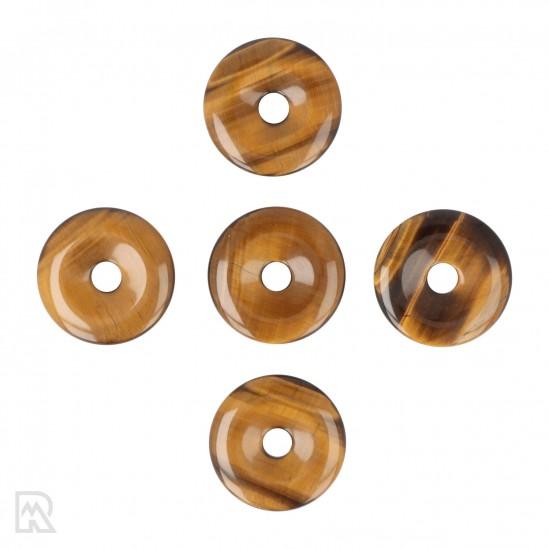 Tijgeroog Donut Hanger ± 40 mm