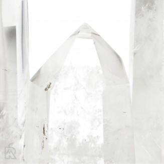 Bergkristal Gepolijste Punten Madagaskar