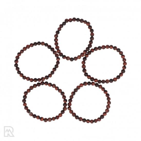 Rode Tijgeroog Armband