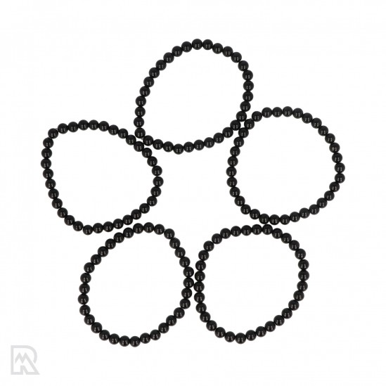 Zwarte Toermalijn Armband