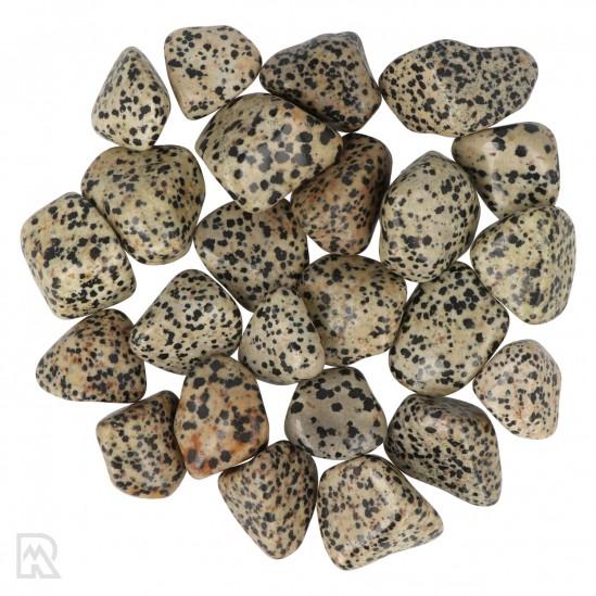 Dalmatiër Jaspis Trommelstenen