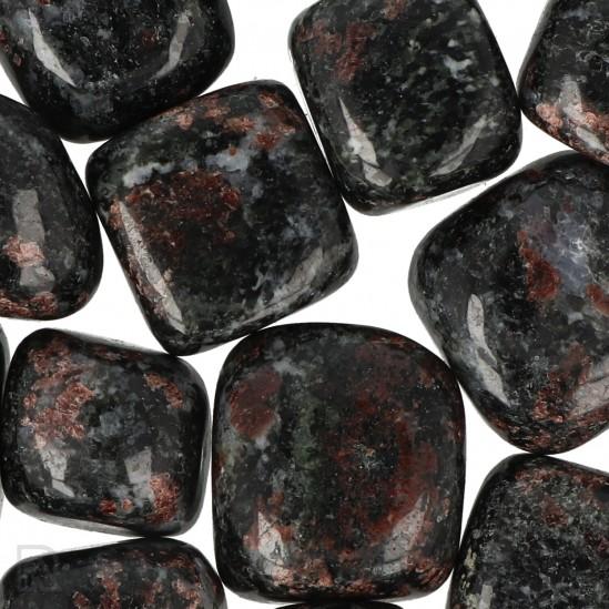 Granaat in Biotiet Trommelstenen