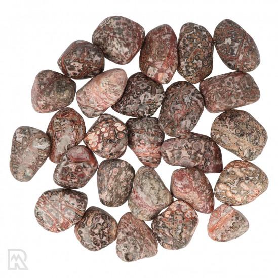 Leopard Skin Jaspis Trommelstenen