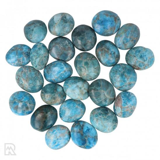 Blauwe Apatiet Zakstenen